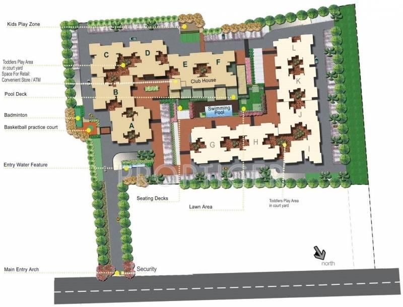 Images for Master Plan of Kolte Patil Raaga