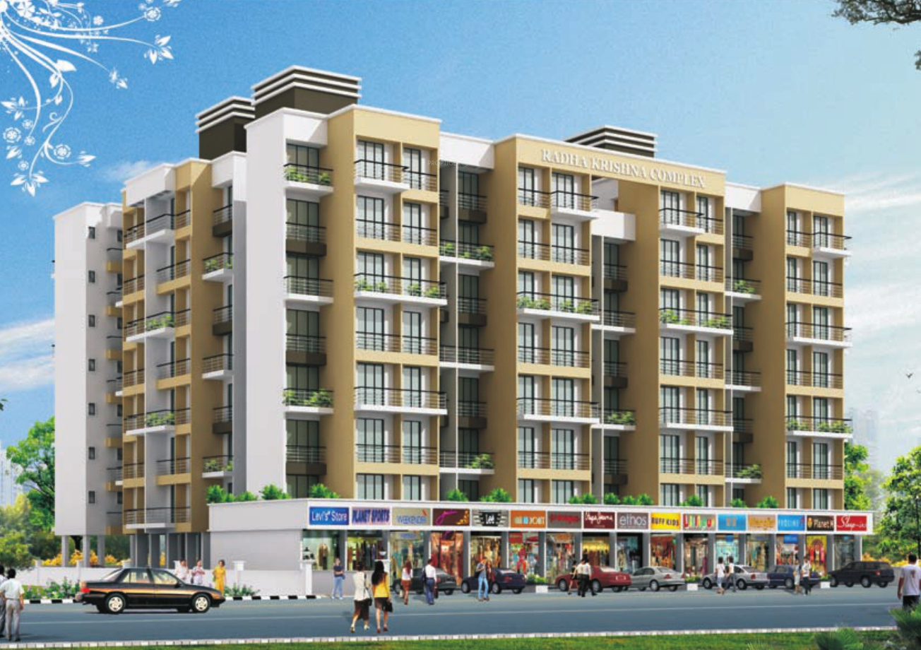 Image of location map of gami group radha krishna complex for Apartment complex map maker