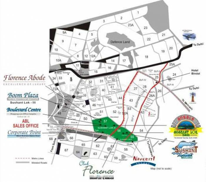 Images for Location Plan of Ansal Florence Abode
