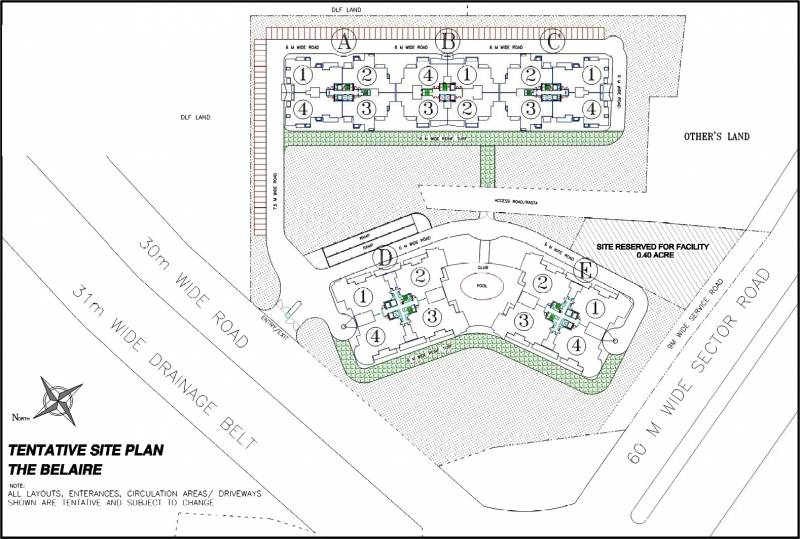 Images for Master Plan of DLF The Belaire