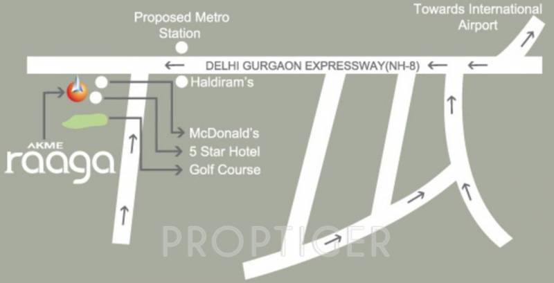 Images for Location Plan of Akme Raaga
