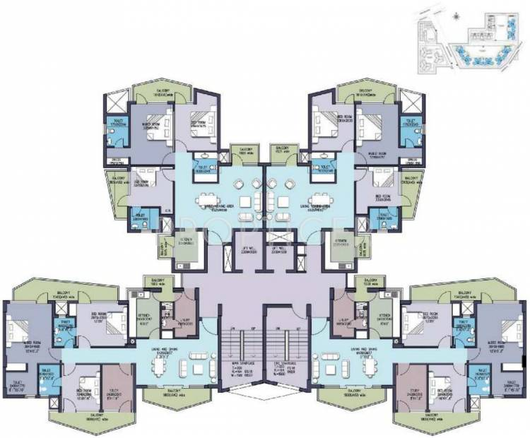Images for Cluster Plan of Anant Raj Maceo