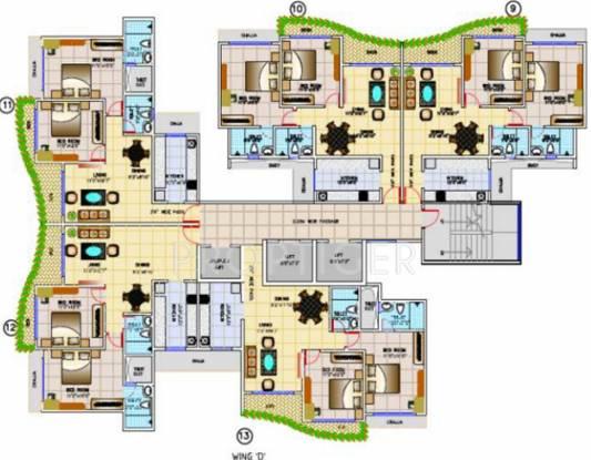 Images for Cluster Plan of Tridhaatu Aum