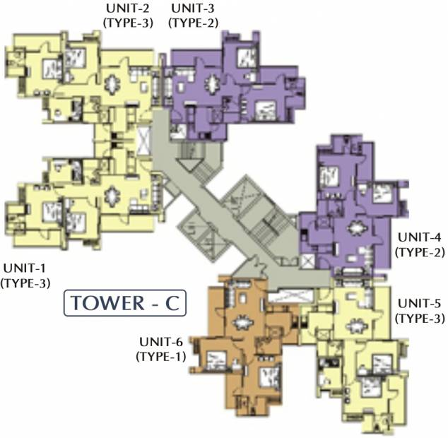Images for Cluster Plan of RG Residency