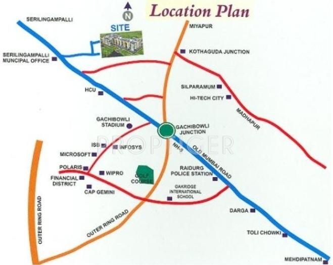 Images for Location Plan of Maruthi Sri Maaruthi Nivas