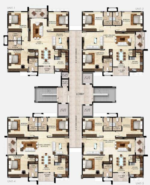 Images for Cluster Plan of SMR Vinay Iconia