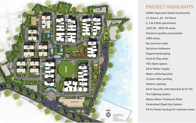 Images for Layout Plan of SMR Vinay Iconia