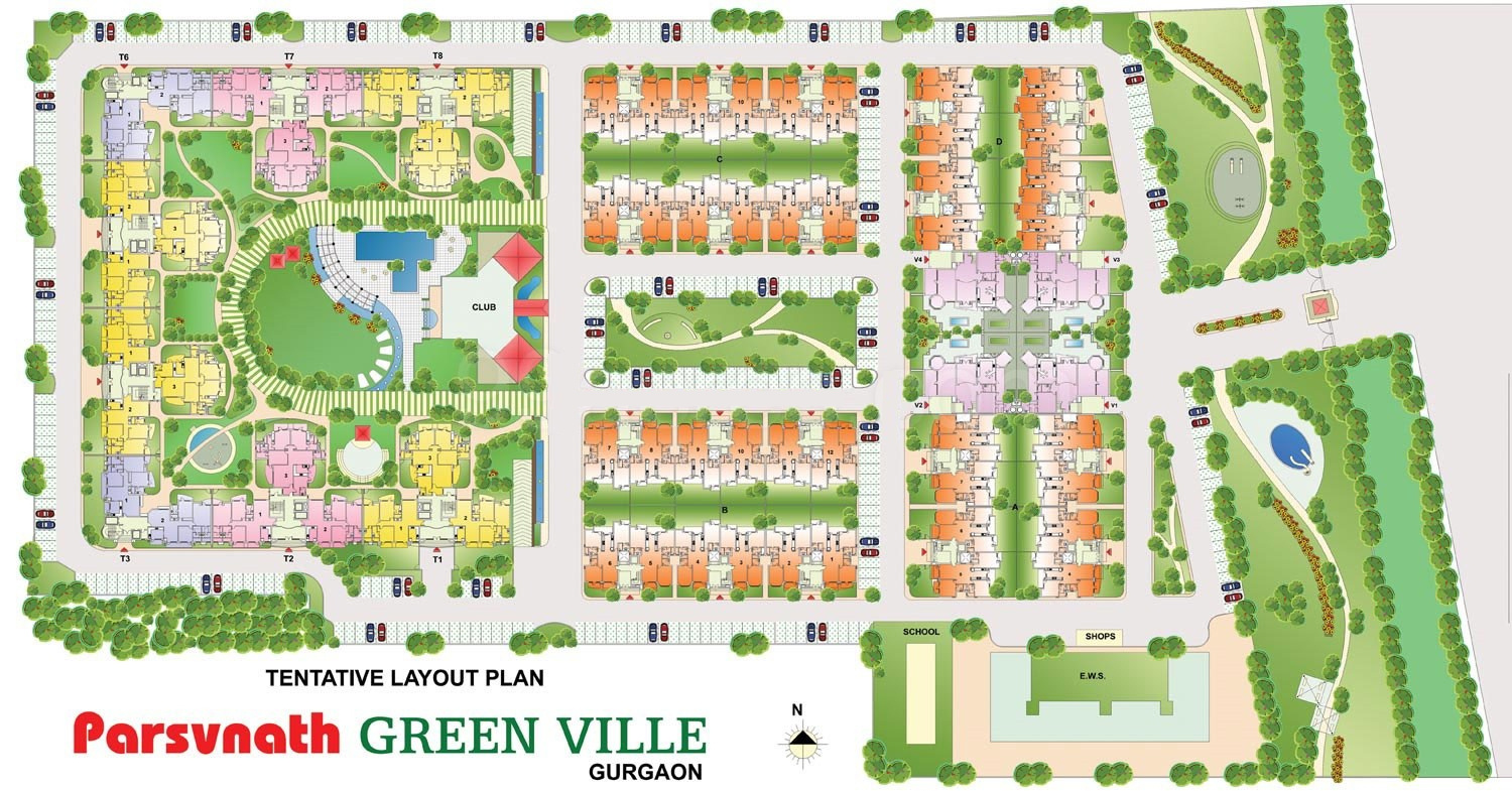 Parsvnath Green Ville In Sector 48 Gurgaon Price