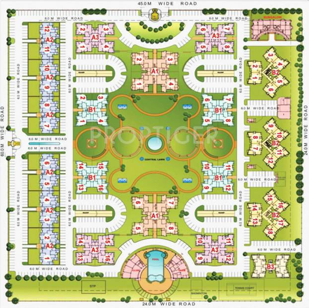 Images for Site Plan of Purvanchal Silver City 2