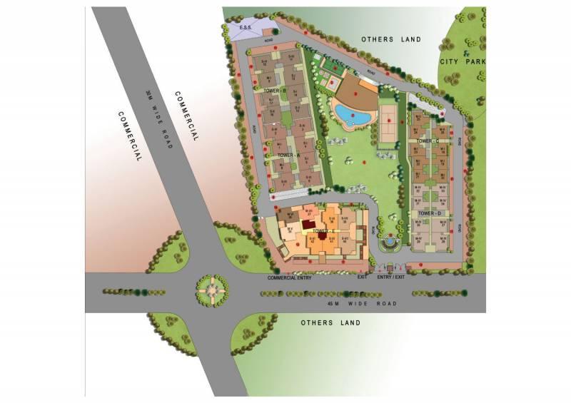 Images for Layout Plan of Gaursons Gaur Global Village