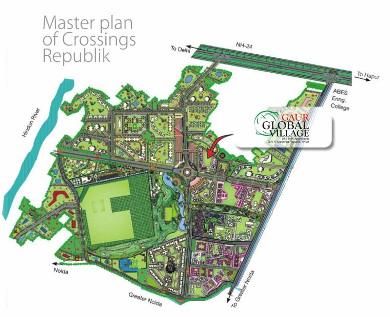 Images for Master Plan of Gaursons Gaur Global Village