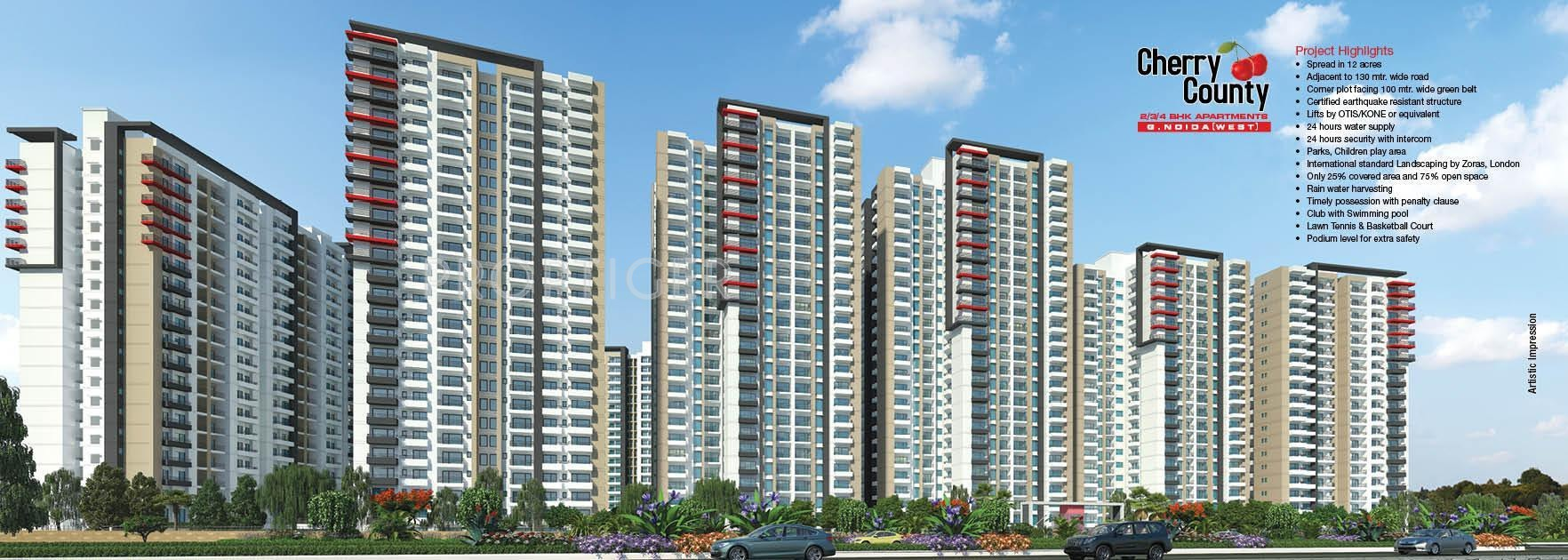 ABA Cherry County in Techzone 4, Greater Noida - Price