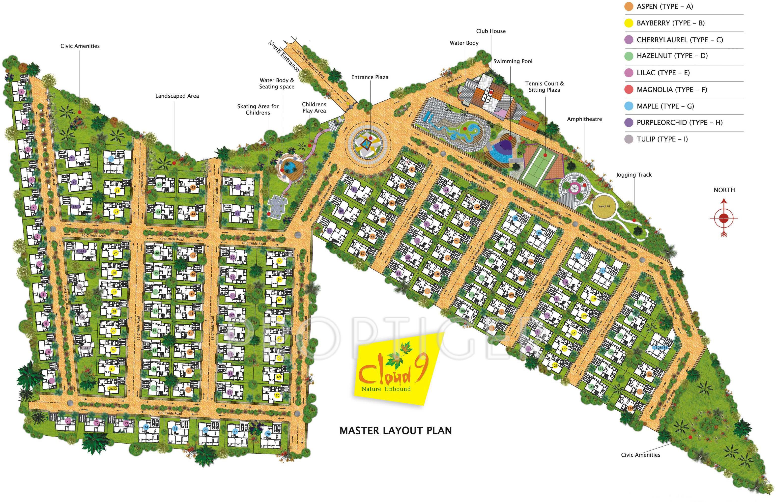 2978 sq ft 3 bhk 3t villa for sale in prasiddhi cloud 9 for Cloud 9 villas bommasandra