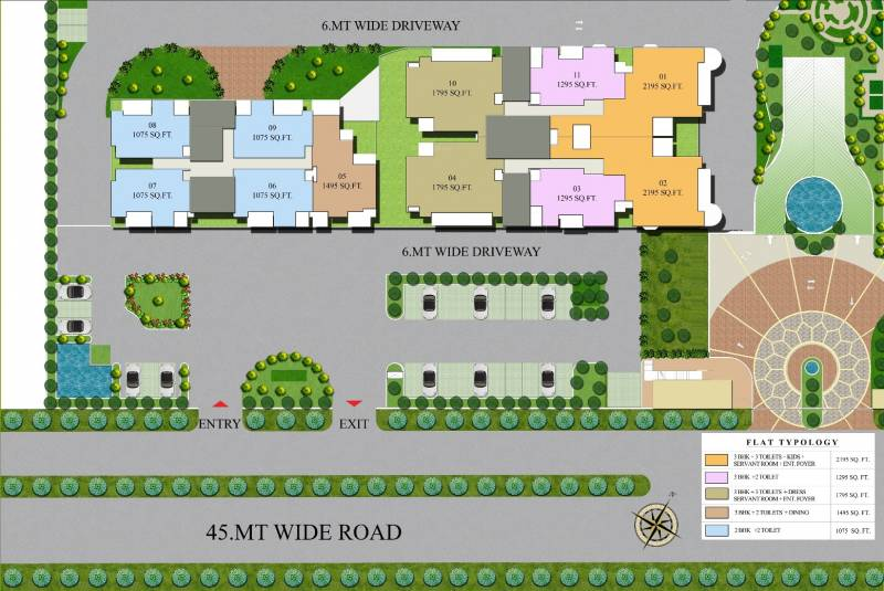 Images for Site Plan of Ajnara Grand Heritage