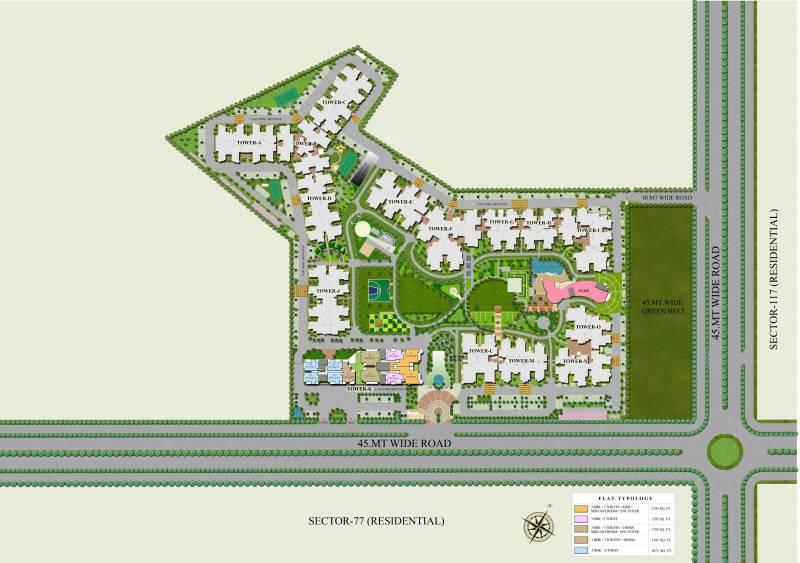 Images for Master Plan of Ajnara Grand Heritage
