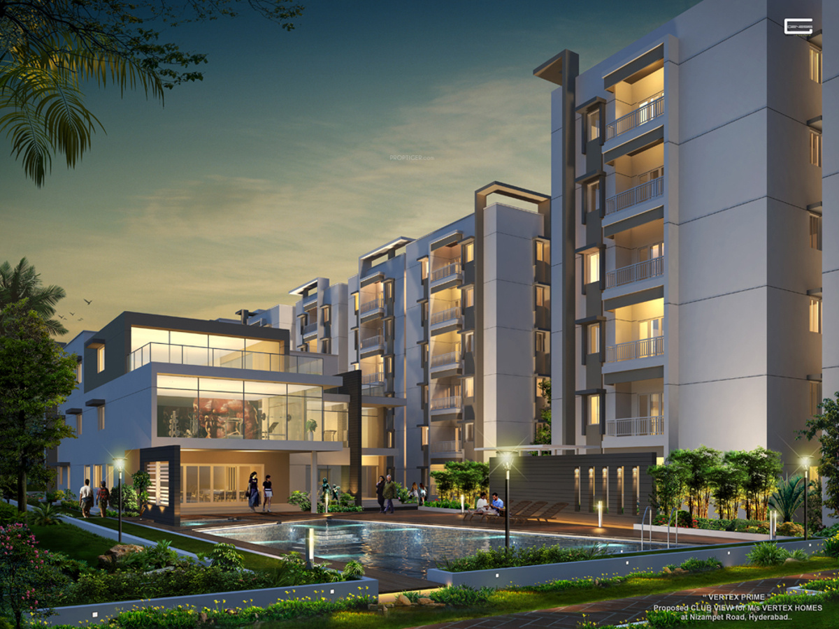 1470 Sq Ft 3 Bhk 3t Apartment For Sale In Vertex Homes