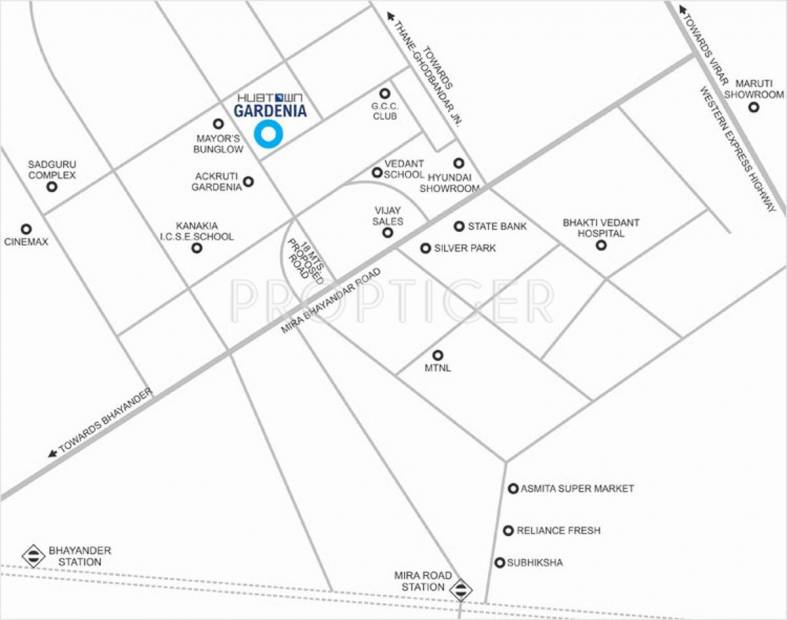 Images for Location Plan of Hubtown Gardenia