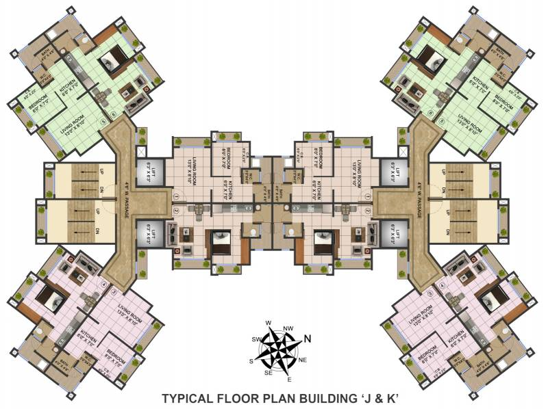 Images for Cluster Plan of Bhoomi Acres
