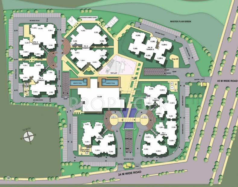 Images for Site Plan of Assotech The Nest