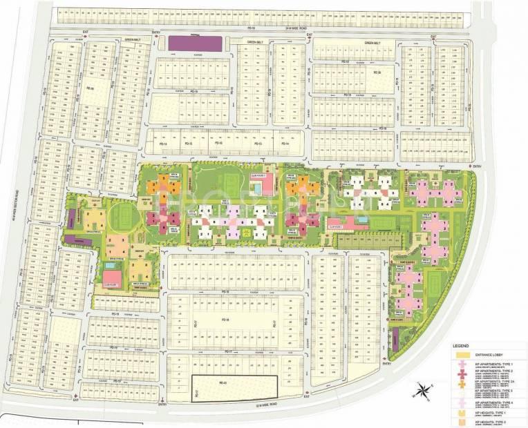 kensington-park-apartments Images for Layout Plan of Jaypee Kensington Park Apartments