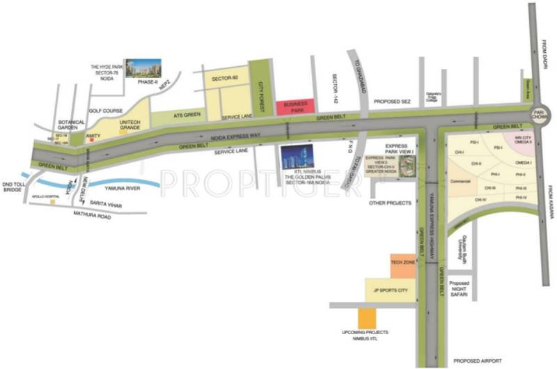 Images for Location Plan of Nimbus Express Park View 2