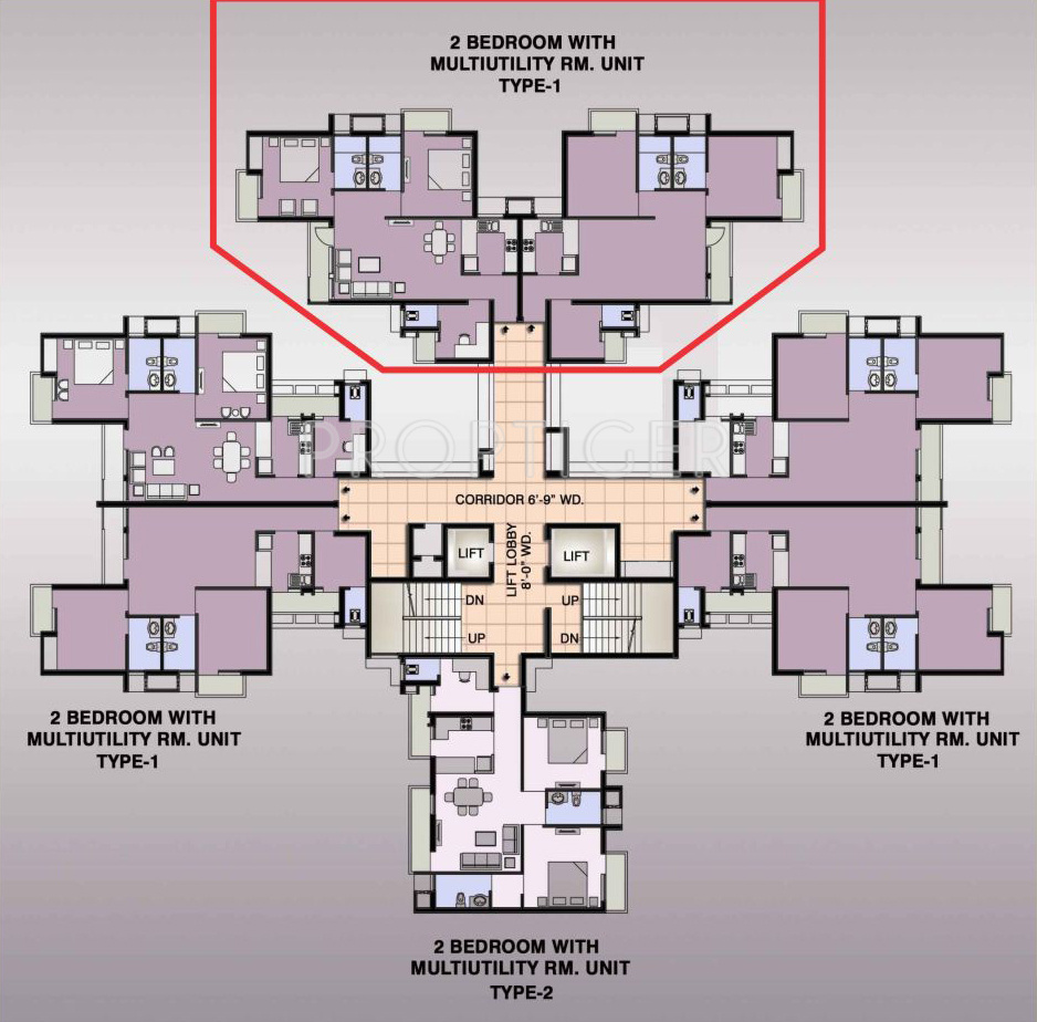 1235 sq ft 2 bhk 2t apartment for sale in ansal api for Apartment floor plans for sale