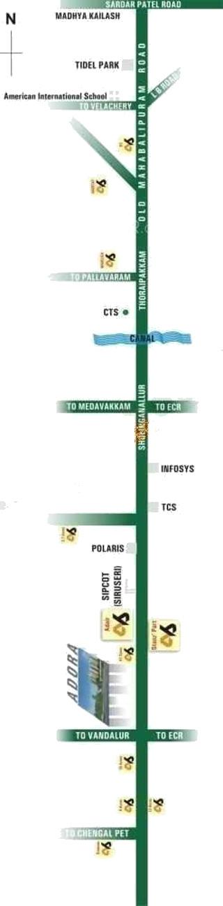 Akshaya Adora In Padur Chennai Price Location Map