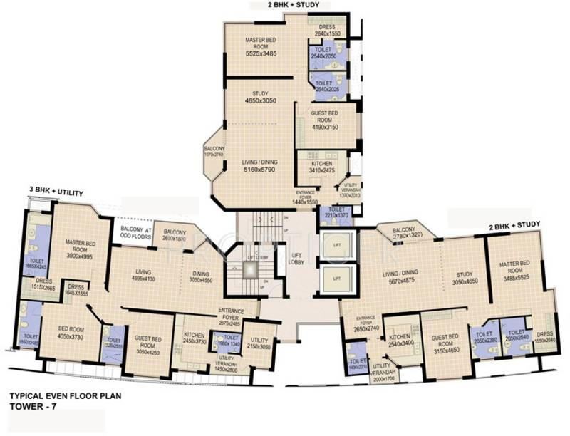 Images for Cluster Plan of Jaypee The Star Court