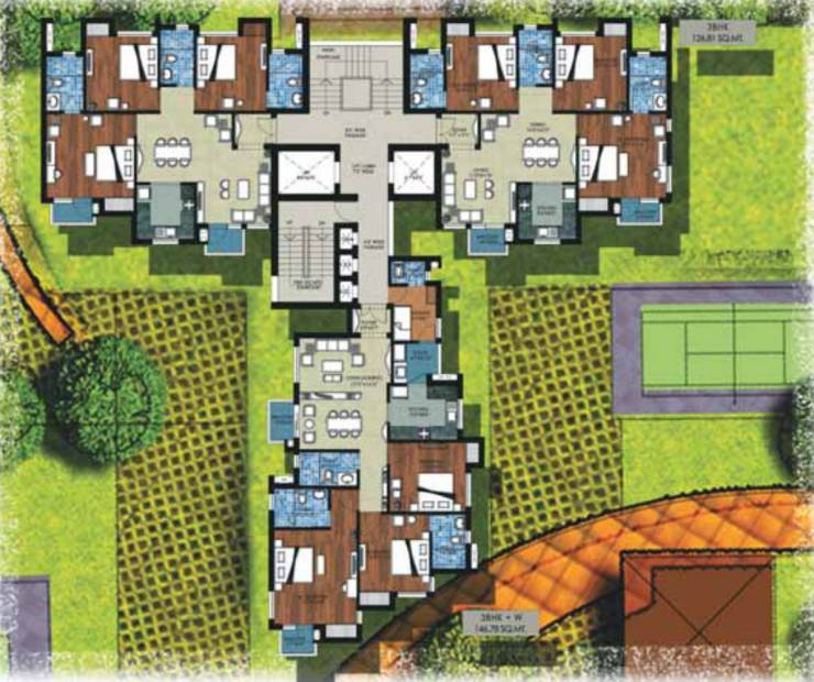 Images for Cluster Plan of Jaypee The Kove