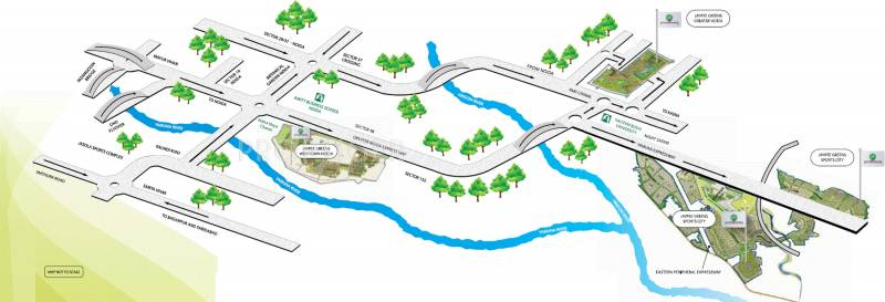 Images for Location Plan of Jaypee Crescent Court