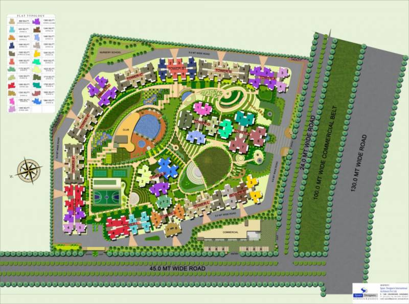 Images for Layout Plan of Ajnara Homes