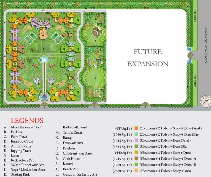 estate Images for Layout Plan of Nirala Estate