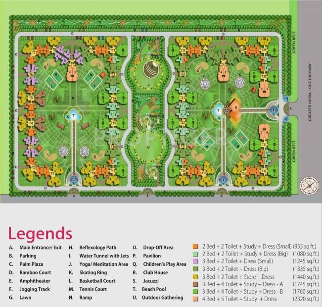 Images for Layout Plan of Nirala Estate