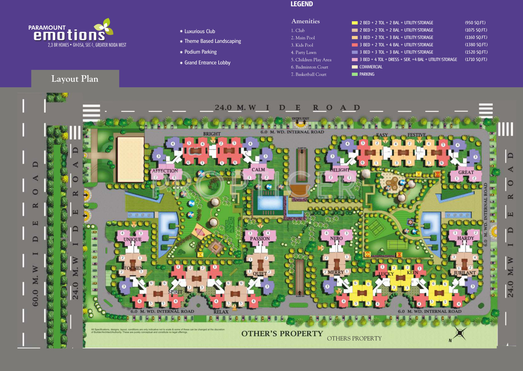Paramount Emotions In Sector 1 Noida Extension Greater Noida