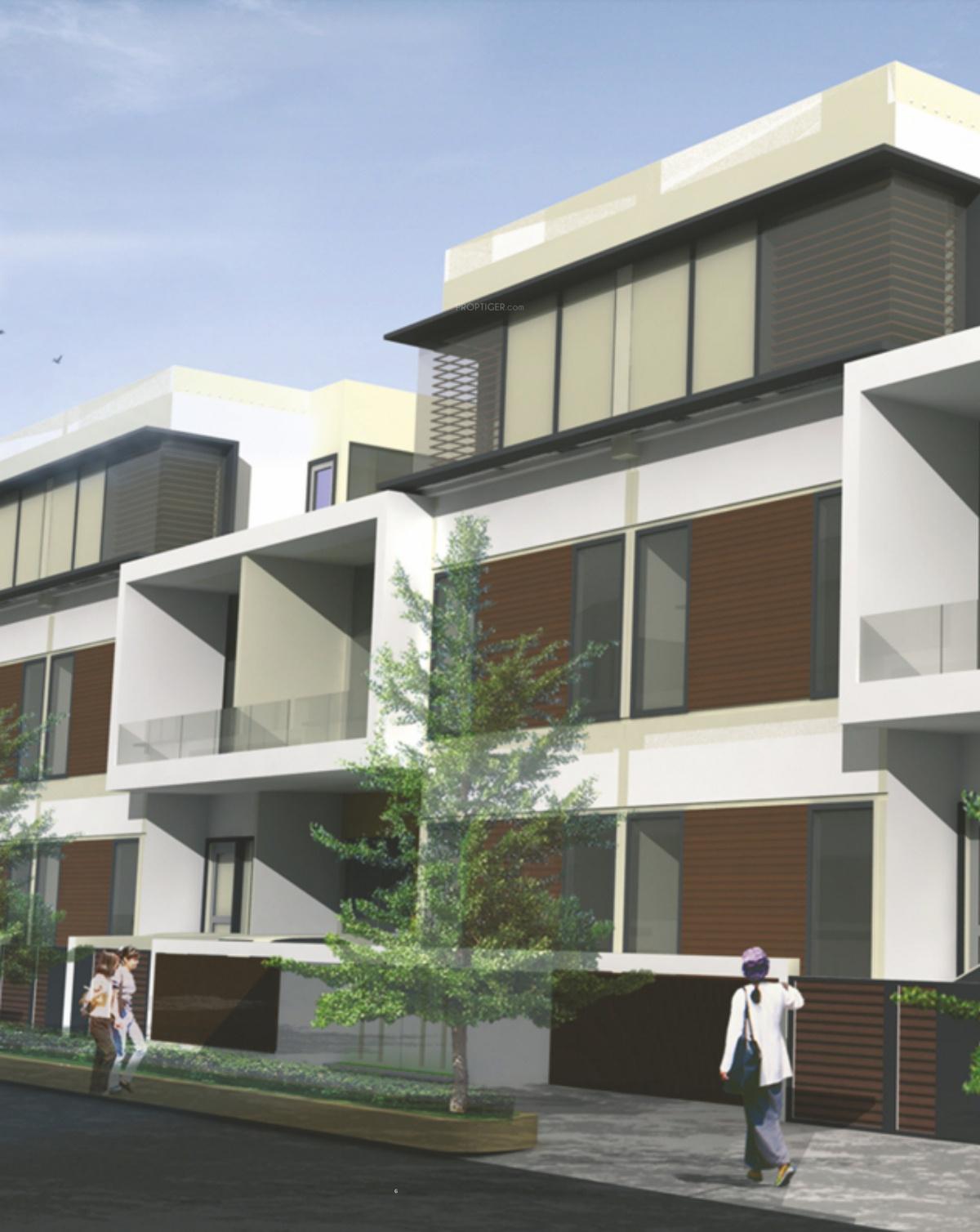 Panchsheel greens 2 villa in sector 16b noida extension for Greentown villas 1 extension