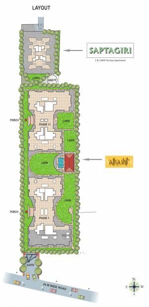 Images for Layout Plan of Paranjape Saptagiri