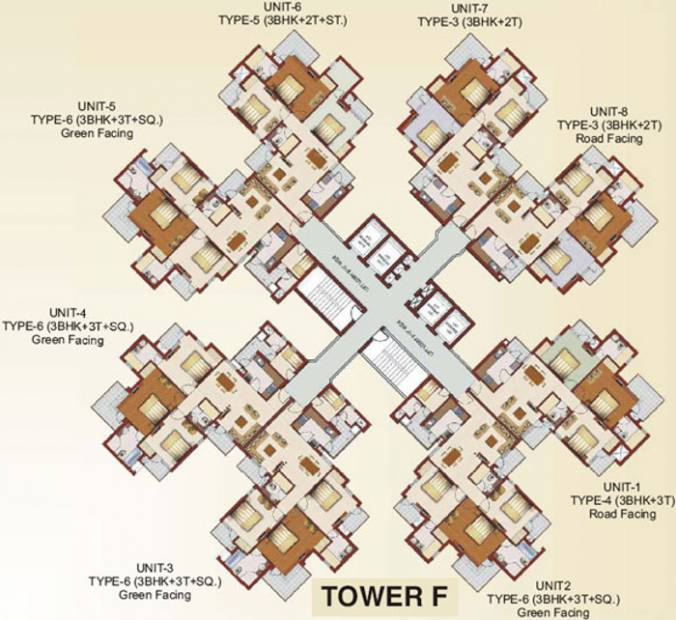 luxury-homes Images for Cluster Plan of RG Luxury Homes