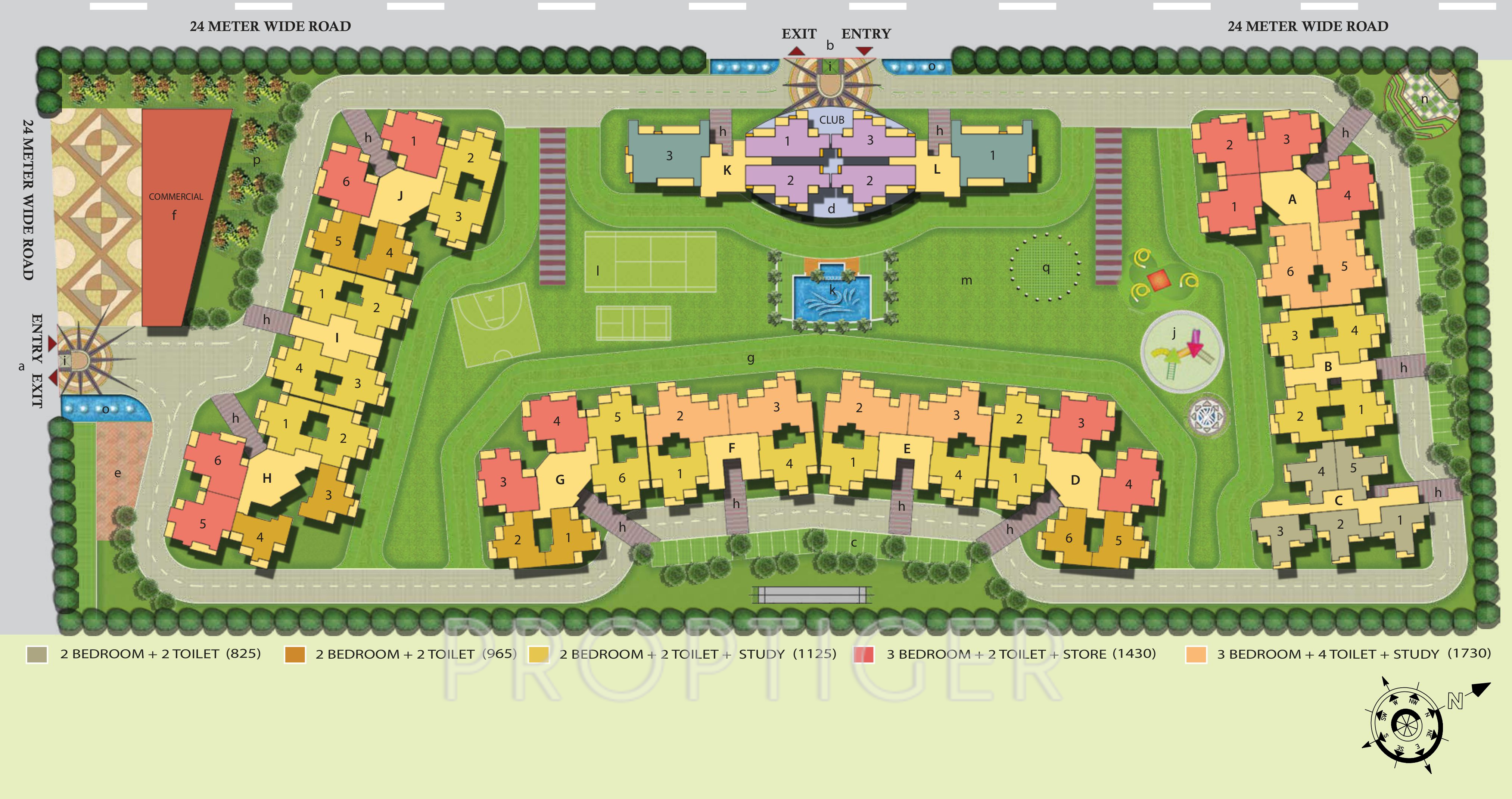 Anthem French Apartments in Sector 16B Noida Extension ...