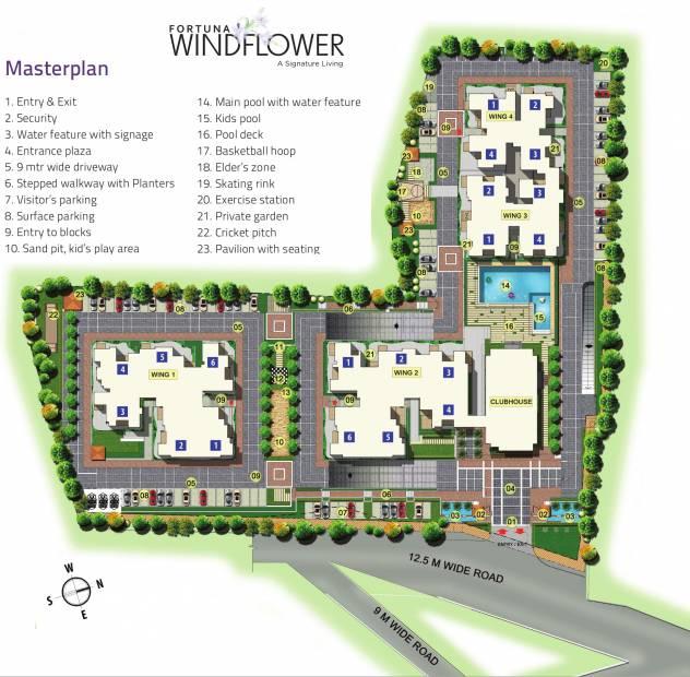 Images for Master Plan of Fortuna Wind Flower