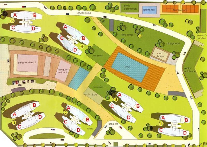 Images for Site Plan of Shrachi Rosedale Garden