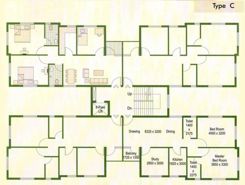 animikha Images for Cluster Plan of Bengal Peerless Housing Animikha