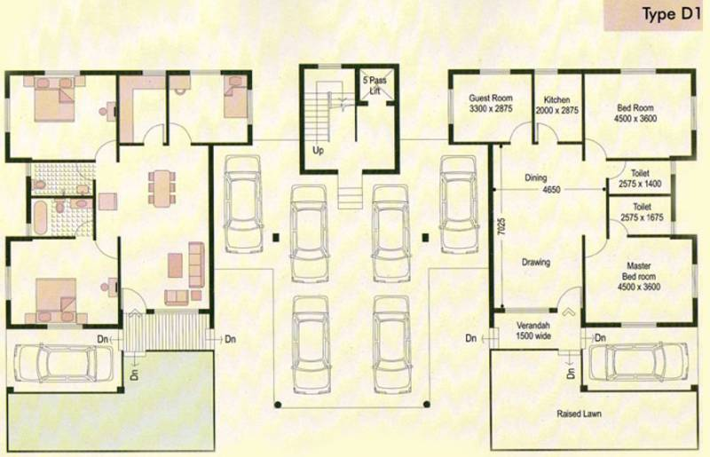Images for Cluster Plan of Bengal Peerless Housing Animikha