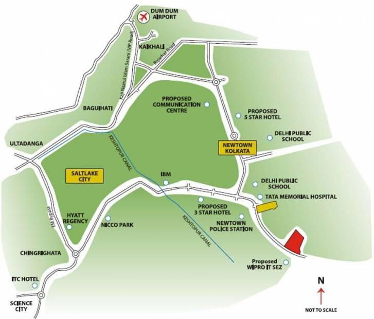 Images for Location Plan of Unitech Horizon