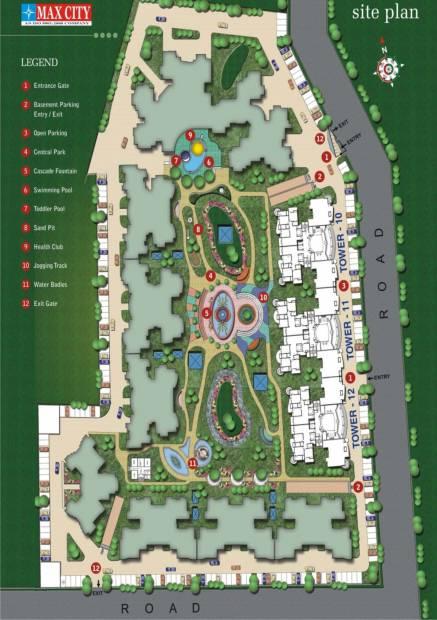 park-sapphire Site Plan