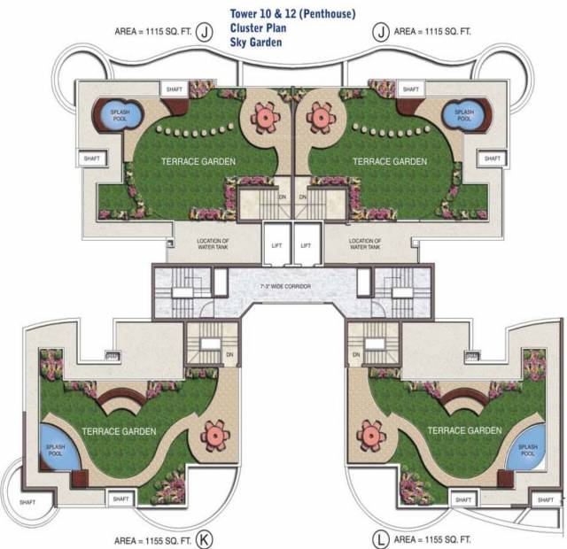 Images for Cluster Plan of Sethi Group Park Sapphire