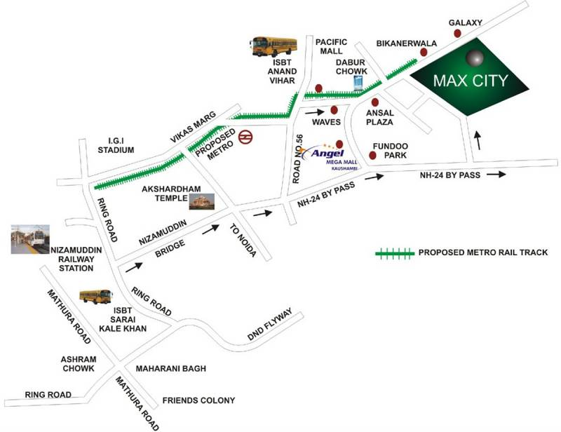 Images for Location Plan of Sethi Group Park Sapphire