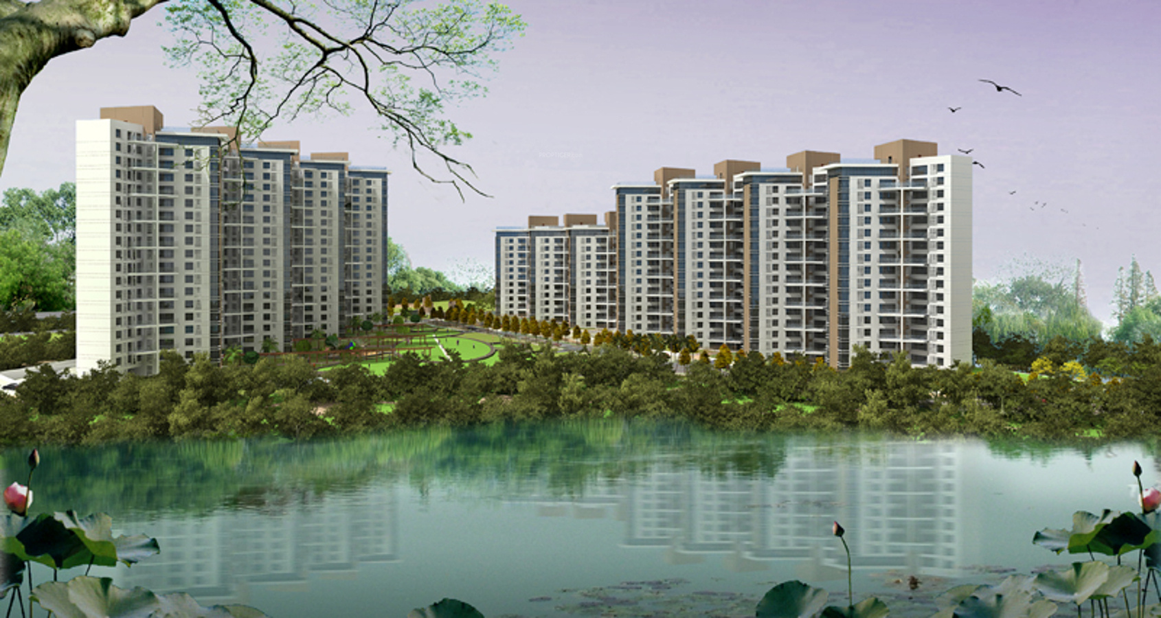 1184 sq ft 2 bhk 2t apartment for sale in j k group park for Park ridge