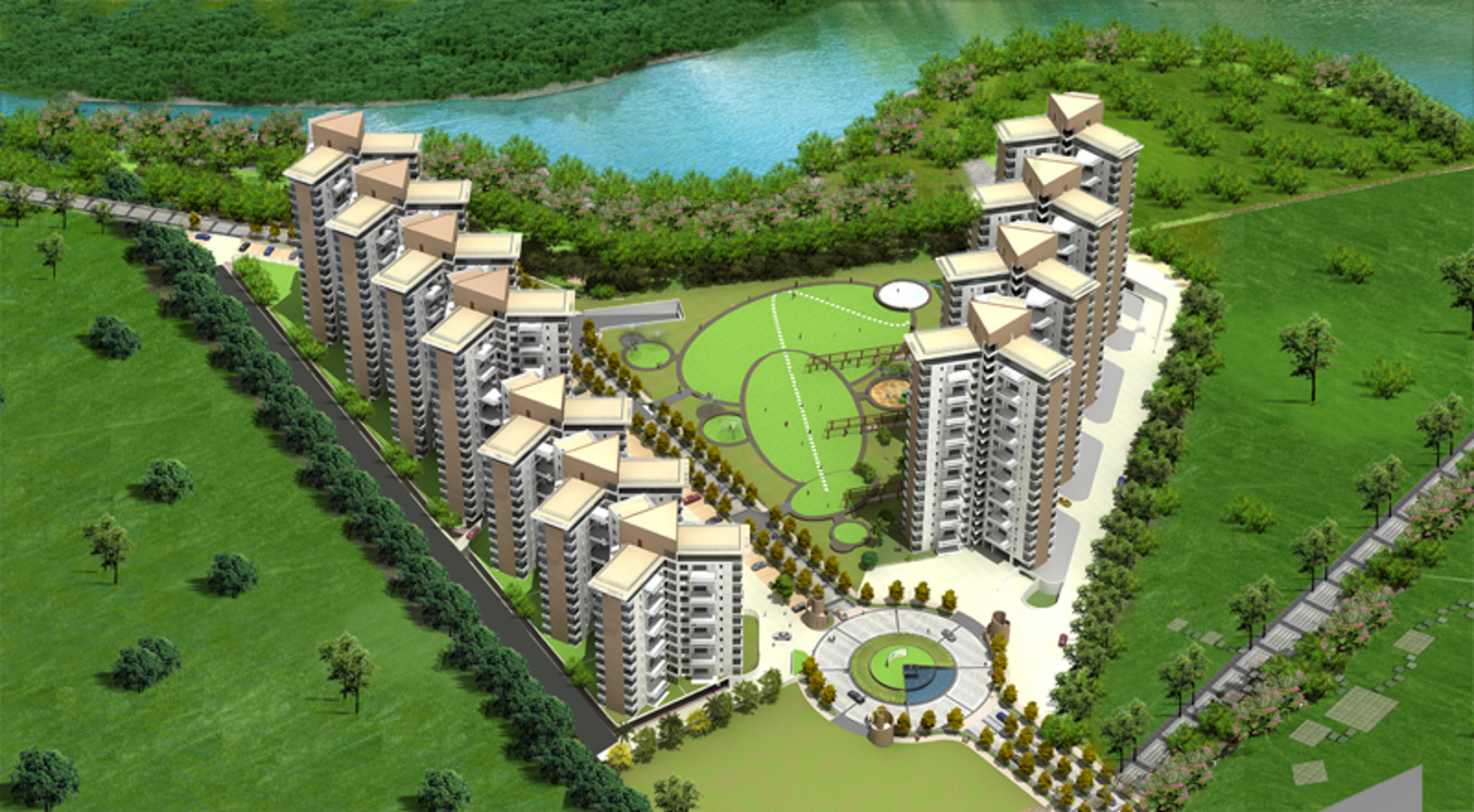1712 Sq Ft 3 Bhk 3t Apartment For Sale In J K Group Park