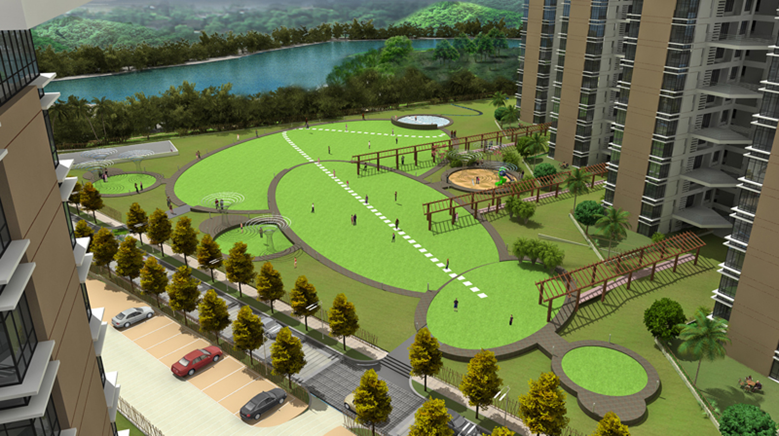 1184 Sq Ft 2 Bhk 2t Apartment For Sale In J K Group Park