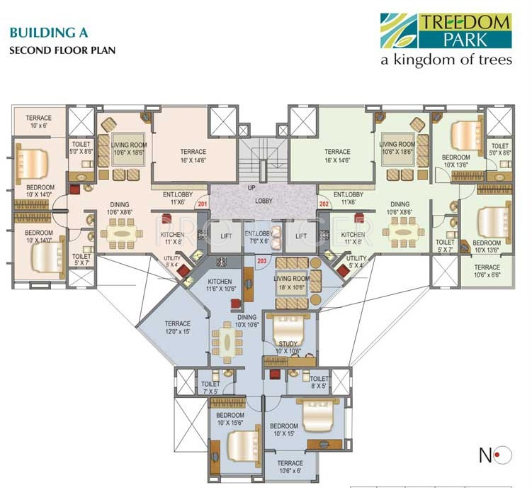1323 Sq Ft 3 Bhk 3t Apartment For Sale In Mittal Brothers